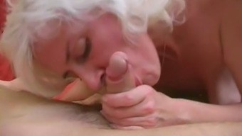 Granny Inga along with excess tits gets fucked.
