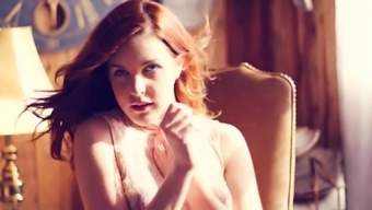 Beautiful The spanish language redhead utilizing a excess weight ass gets fucked challenging