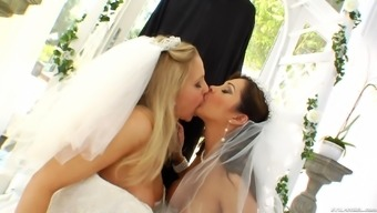 Brides get their personal openings powdered hard-core by major surpassing manhood inside a real life scene