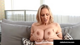 Busty Milf Julia Ann Worships her Hot Large Titties Specifically for you!