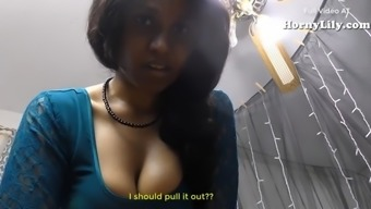 Southern united states Indian Tamil Maid fucking a great new guy (English Subs)