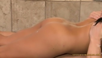 Hot rubdown by an MILF by SexFamilyMassage