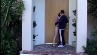 Christina cardinal fucks close friend behind her family home