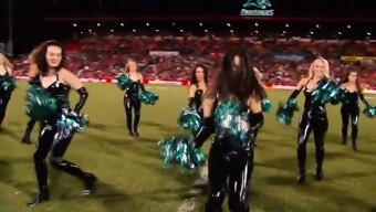 Cheerleaders in Pvc material
