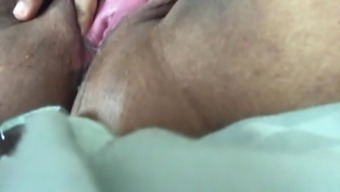 Ice Portion In Sizzling Moist Indian BBW Young adult Cunt