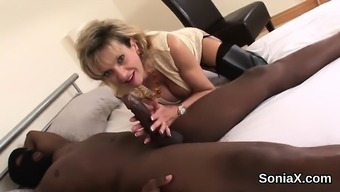 Betrayal britain milf female sonia shows her large hooters4