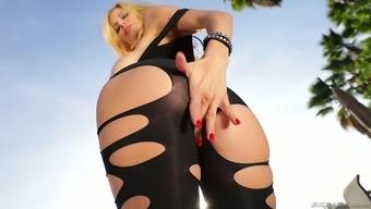 Major bottomed and fake tittied harlot Alexis Fawx amusement rides big huge dick