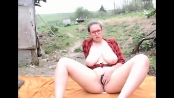 Big tits partner outdoor bj and even more