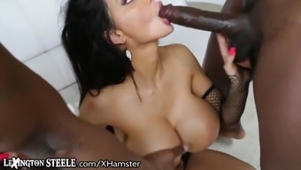 LexingtonSteele Amy Anderssen Discussed by 2 or more Installed Men