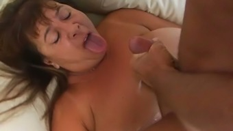 Perverted age mum with the use of vast boobs and fat booty is obtaining fucked very difficult in filthy porno scene