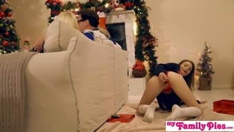 Family Pies - Naughty Opposite sex Get Brothers Penis For Xmas S1