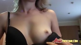 winger girl with big butt gets anal love-making