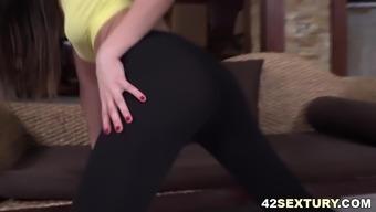 Tina Kay treasures anal passage yoga