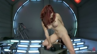 Track Jordan gets her ripe vaginal canal drilled by a equipment