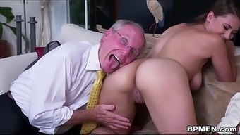 Big tits Student Ivy Roze wijn visited everybody to blow and fuck a few old incline.