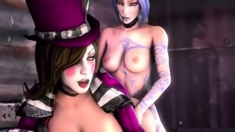 3D Animated - Mature Toon and Sex Person Gaming apps Compilation - Treat