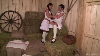 Athina Not only enjoy but her lesbian honey making out the different cunts