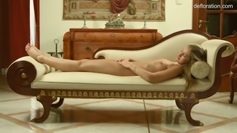 lovely unique tiffany tatum fondles her happy on their lonesome