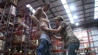 Cheating english age girl sonia jumps out out her great boobs31B