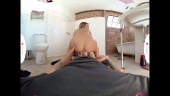 VR PORN - Blair Williams Getting Fucked Hard by the Plumbing contractor