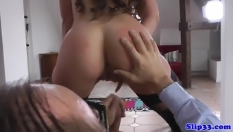 hot youngster taste of old man's jizz