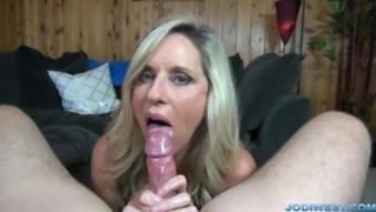 Jodi East movements someone penis until you cum!