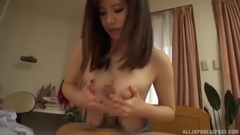 Warm blond chick rides a hard dong like there is virtually no later