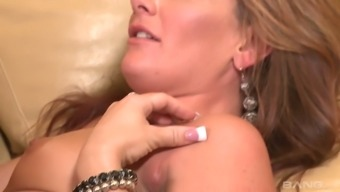Remarkable sexual intercourse entertaining by using super salacious whorish milf Savannah Dog