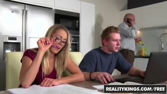 RealityKings - Sneaky Intercourse - Chad Rockwell Christen Courtney