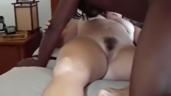 Mordant stud fucks my cuckold wife missionary and breeds her