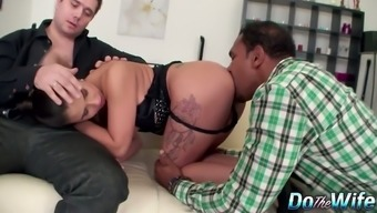 Fiery hot chick Mira Cuckold is only a perfect black cock tramp who treasures sperm
