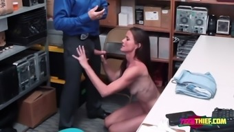Sofie marie is contrived by horny officer into taking his big fat cock