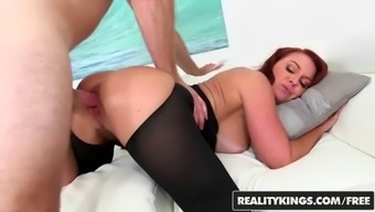 Janet mason levi cash sexy back in black reality kings