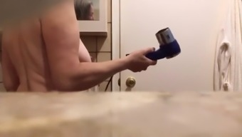 Big Mature Tits on Mom in shower