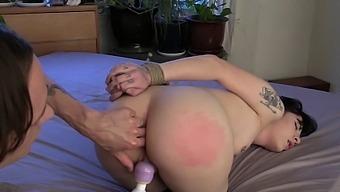 Fucking my ass in bondage