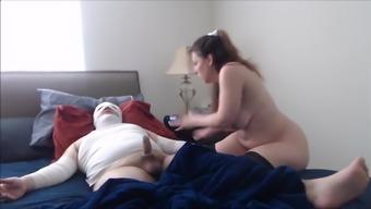 Homemade sex with nurse. Busty amateur woman