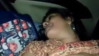 Desi Mallu Office Babe Enjoyed on Vacation - Part 6