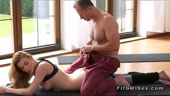 Qi gong educate explodes blond from behind