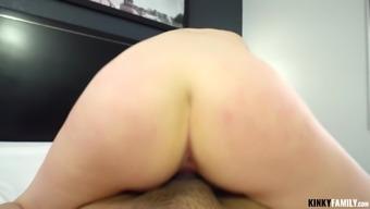Kinky Family - Paris White - Tony fucks sexy stepsis again