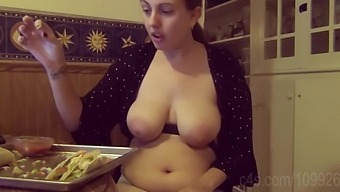 Face Stuffing 12 Tacos Topless