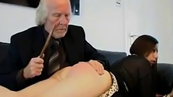 MR OLD MAN teach discipline bad slut