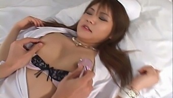 Passionate fucking between a patient and naughty nurse Ai Niimura