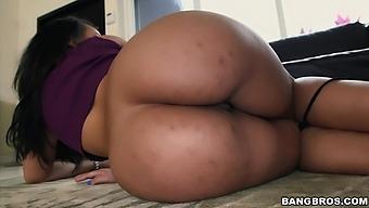 Homemade video of wild fucking with large ass Latina Ava Sanchez