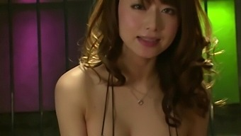 Closeup amateur video of hot ass Yoshizawa Akiho having nice sex