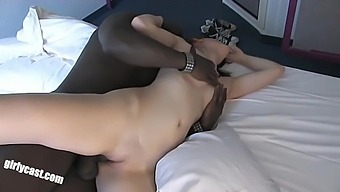 Interracial Romantic Sex With Hot Babe