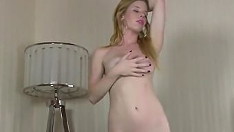 Solo Blonde Orgasm