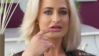 Nice fucking ends with cum on bell for mature blonde Nicole Vice