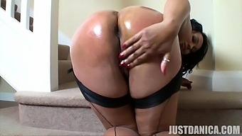Cock hungry bolder older Danica Collins drops her panties to play
