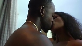 Indian bhabhi fucked by African boy at home