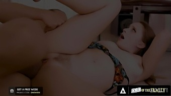 Laney Grey Hardly Takes Her Annoyed Stepbrother's Huge Dick
